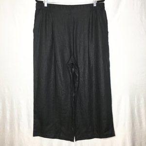 Eileen Fisher organic linen pull on pants R7